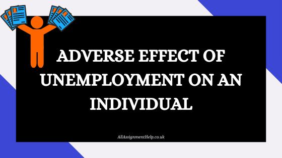 effect of unemployment