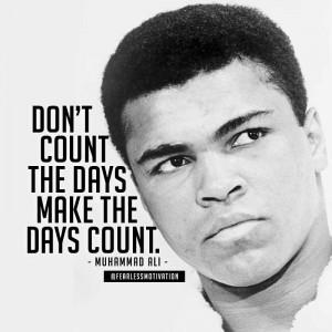 Inspiring Quotes from Muhammed Ali